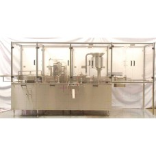 Vial Filling Stoppering and Capping Machine