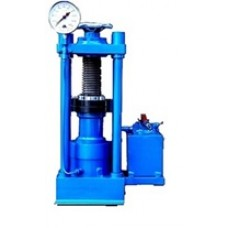 Compression Testing Machine - Hand Operated Pillar Type