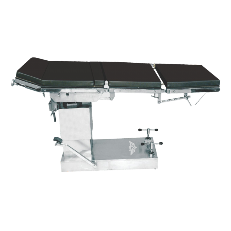 arm compatible hydraulic operating table